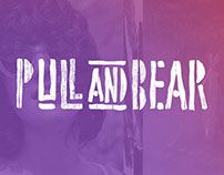 Pull&Bear Festivals - Lettering & Lookbook