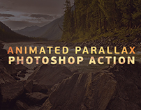 Parallax photoshop action