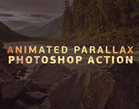 Parallax photoshop action