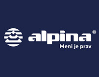 The Alpina logo redesign project