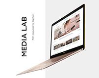 Split Screen Website Design