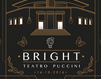 BRIGHT - Poster & Logo Design