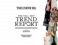Pre-Fall'17 Trend Report | L'Officiel India Aug'17