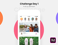 Challenge Day 1 - Pull to Refresh