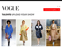 VOGUE TALENTS UPLOAD YOUR SHOW