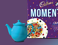 'Moments' Dessert Cookies, Concept idea for Cadbury
