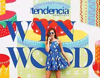 Editorial de moda para Revista Tendencia, Edición 79