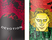 Devotion Skateboard.