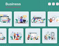 M276_ Business Illustrations