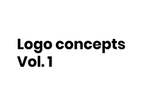 Logo concepts Vol. 1