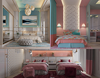 3 Modern Girl Bedroom