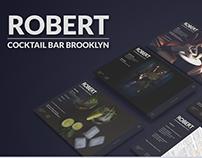 Web design for Brooklyn based restaurant / Bar.