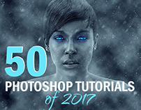 50 Best Tutorials for Adobe Photoshop of 2017