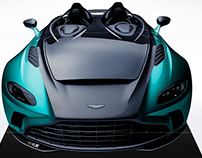 2020 Aston Martin V12 Speedster Black & Tiffany Blue