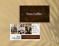 Tora Coffee Presentation Template