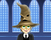 Hat - Potter Week prompts