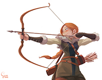 "soonsang works. ""archer"""