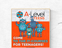 A-Level Teens: materials for teenagers' IT school