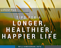 Tips for a Longer, Healthier, Happier Life