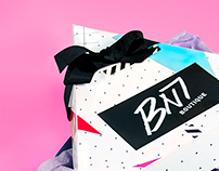 BN7 Boutique: Women's Clothing Packaging