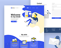 WebDave - Onepage