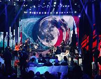 Video Motion Art on LED - Sanremo Music Festival