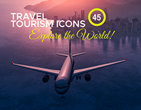 45+ Travel, Tourism & Vacation Icons – Explore World!