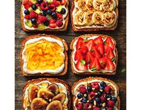 Variété de tostadas