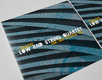 Low End String Quartet digital EP cover