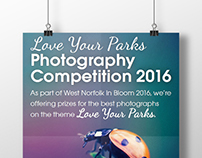 Love Your Parks Photography Competition Campaign