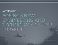 David Pflieger | Boeing's New Center in Istanbul