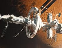 MIission Mars / Book illustrations