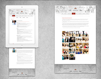 «Romanovsky» foundation | website | redesign logo