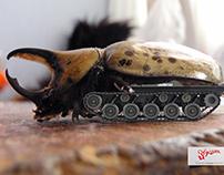 Escarabajo Tanque