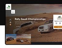 Rally Saudi
