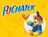 Puchatek website redesign