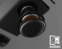 Audac Noba Speaker Product Rendering & 3D Animation