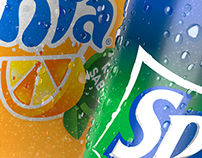 FANTA & SPRITE - 625ml Packshots