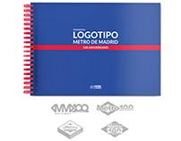 Metro de Madrid 100 anniversary logotype (contest)