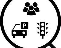 Smart Sensing Environment Icons