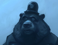 Bear Character Sketch