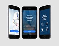 IDF Mobile App Mockup