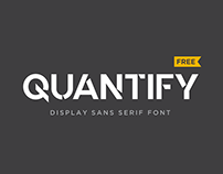 "Quantify ~ Free Font ""Updated"""
