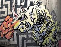 Very first graffiti!