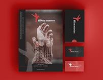 Free Agency Brand Identity Mockup