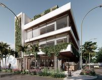 Cofimar Puerto Maldonado: restaurante + oficinas