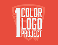 1 Color Sports Logo Project