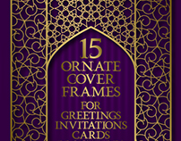 Ornate cover frames set