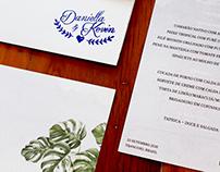 Convites Dani & Kevin