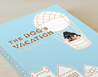 The Dog's Vacation, Children's Book Cover Design
